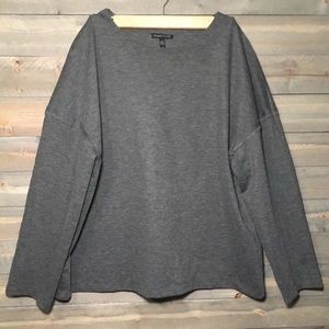 Eileen Fisher Large Gray Sweater